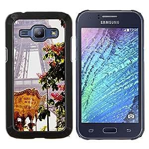 Stuss Case / Funda Carcasa protectora - Torre Eifel Feria de Primavera de Francia - Samsung Galaxy J1 J100