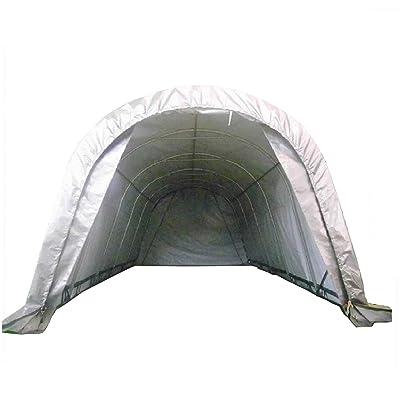 Delta Canopies 20'x12' Carport Grey/White