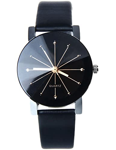 0736ff12fa41 Amazon.com: Women Quartz Watches COOKI Clearance Analog Ladies Watches  Female Watches Leather Wrist Watches-H01: Watches
