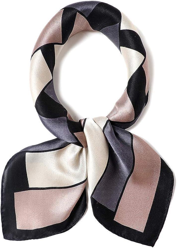 Scarf 100\u044560cm Natural  White Mohair and Silk 40\u044524