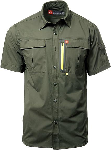 Stoota Men Dress Shirt Baggy,Hawaiian Print Beach Blouse Long Sleeve Button-Down