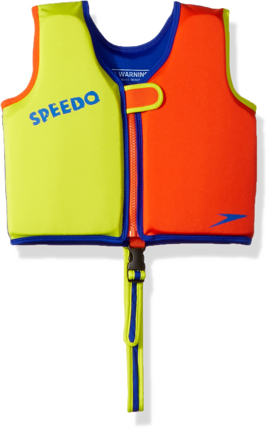 Lime orange Large Speedo Kids UPF 50+ Begin to Swim Classic Swim Vest