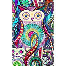 Owls: Presents / Gifts for Owl Lovers [ Ruled Notebook / Small Journal – Carnival ]