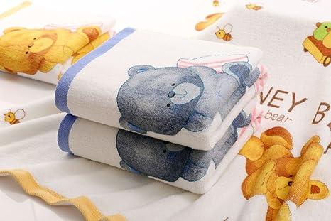 answet 2 toallas de baño de algodón suave como nuevo estilo algodón impresión toalla de baño