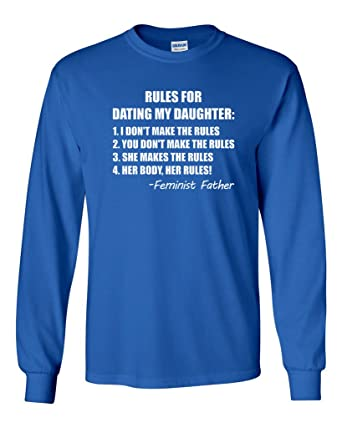 rules for dating my daughter shirts