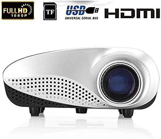 Mini proyectores Mini LED Proyector portátil 12V 60 lúmenes ...