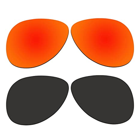 df656951c6b5d Image Unavailable. Image not available for. Color  ACOMPATIBLE 2 Pair Replacement  Polarized Lenses for Oakley Elmont Large 60mm Sunglasses OO4119-xx60 Pack
