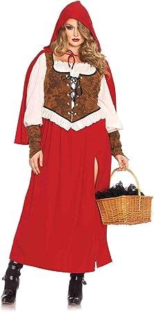 Leg Avenue 85376X - Disfraz de Caperucita Roja para Mujer (Tallas ...