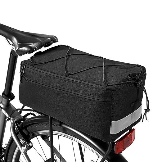 Bolsa De Asiento Trasero De Bicicleta Al aire libre portable bolso ...