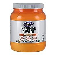 NOW Sports Nutrition, L-Arginine Powder, Nitric Oxide Precursor, Amino Acids, 2.2-Pound