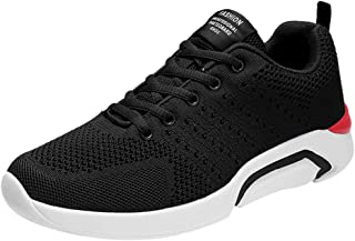 Bluestercool Chaussures de Course Athlétiques Homme Fashion Casual Antidérapant Chaussures de Sport Respirant Sneakers Running Basket-ball Shoes Chaussures Bateau