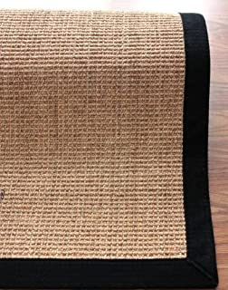 nuloom black machine woven orsay sisal rug area rug