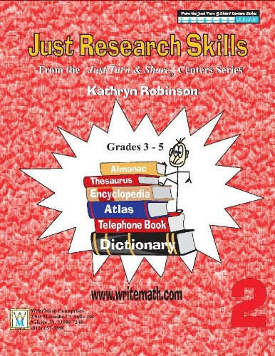 Teaching Research Skills Worksheets - 3rd, 4th, 5th Grade ...