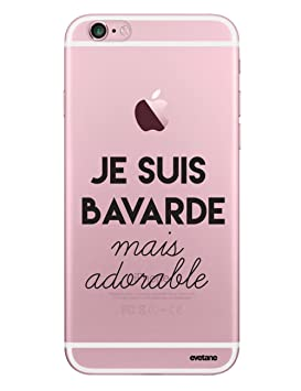 coque iphone 6 silicone bavarde