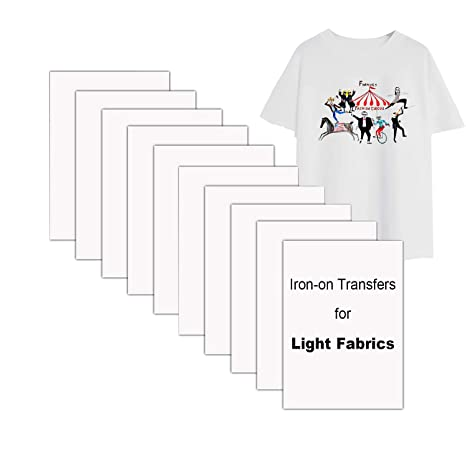 Transferencias de camisetas livianas para impresoras de ...