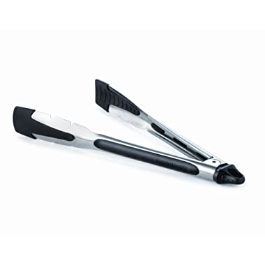 Calphalon Stainless Steel Tongs with Silicone Tips