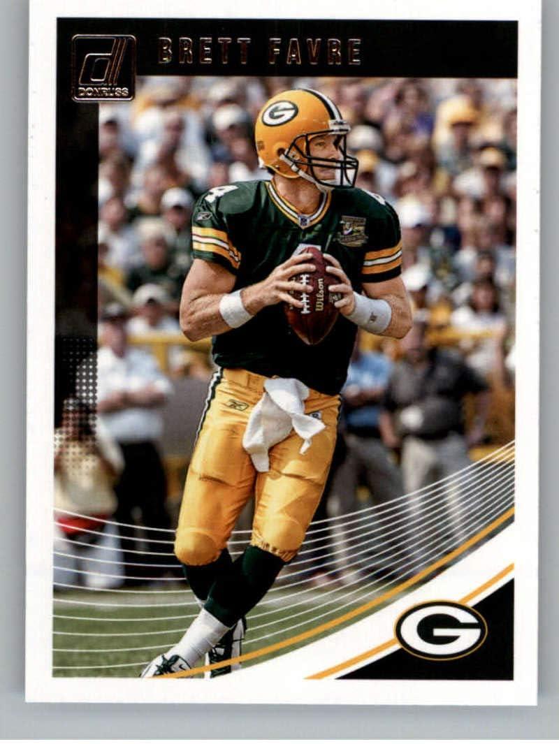 2018 Donruss Football #110 Brett Favre Green Bay Packers Official NFL Trading Card