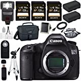 Canon EOS 5DS-R 5DSR DSLR Camera + LPE-6 Lithium Ion Battery + Canon 100ES EOS shoulder bag Bundle 4