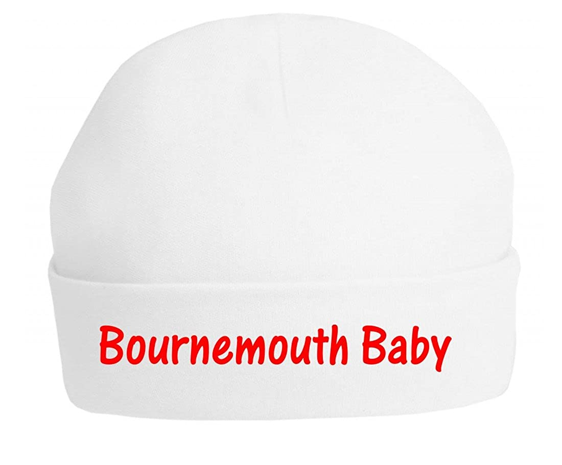 The Bees Tees Baby's Football Beanie Hat - Bournemouth Baby