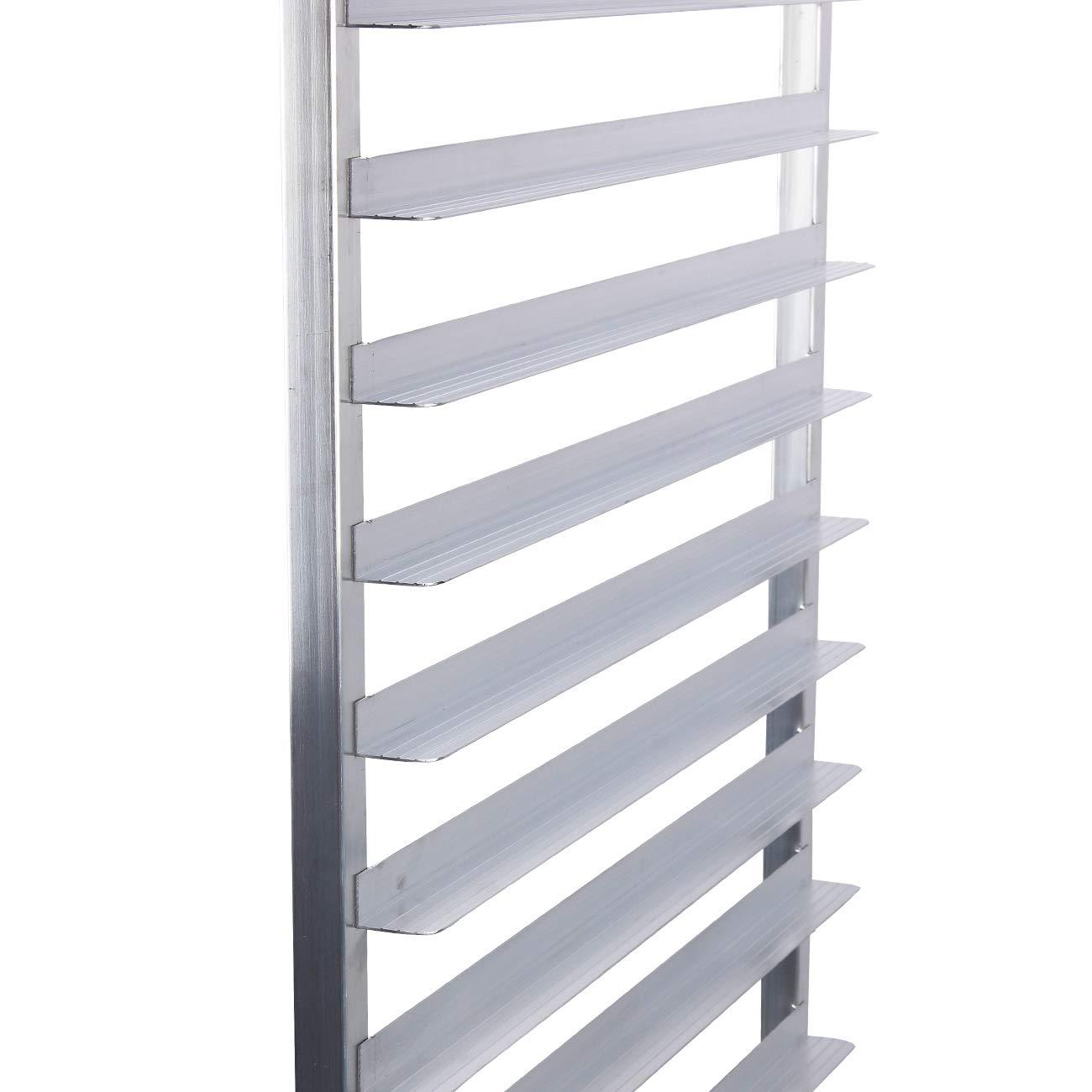 Arksen Commercial Kitchen 10 Tier Bun Pan Half Height Rack