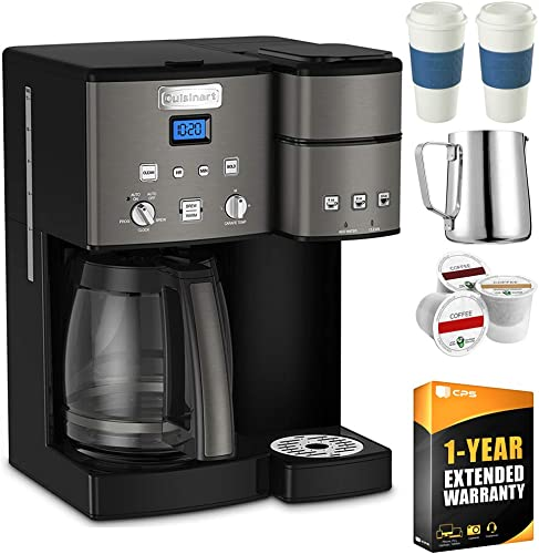 Cuisinart SS-15 12-Cup Coffee Maker and Single-Serve Brewer Black
