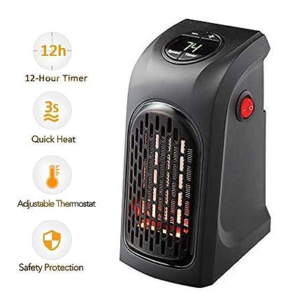 Mano de Calefacción, Plug-in inteligente Radiador Mini Calefacción Termostato eléctrico Calefacción Con Temporizador