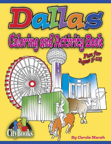 Dallas Coloring and Activity Book (City Books) ebook