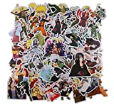 Naruto Stickers [100pcs], Anime Vinyl Sticker for Nintendo Switch Laptop Water Bottle Bike Car Motorcycle Bumper Luggage Skateboard Graffiti, Cute Animals Monsters Decals, Best Gift for Kids Children