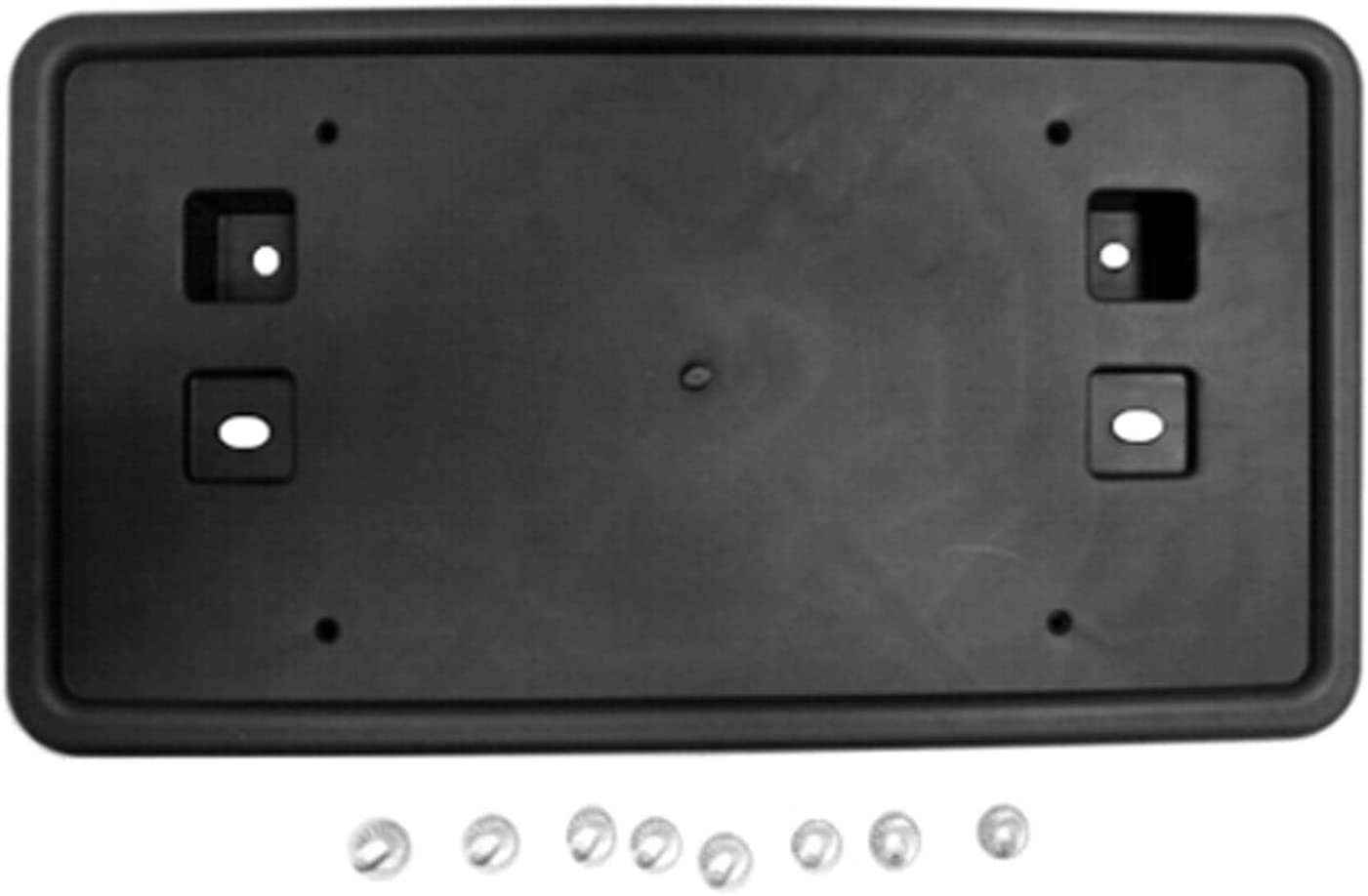 2011-2017 Jeep Compass Mk Front License Plate Bracket; Without Off-Road; No Hardware Made Of Pp Plastic Partslink CH1068142