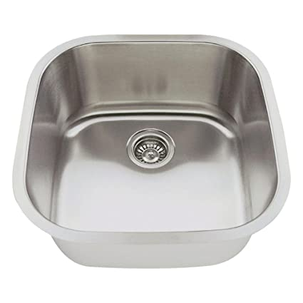 undermount bar sink. 2020 18-Gauge Undermount Single Bowl Stainless Steel Bar Sink