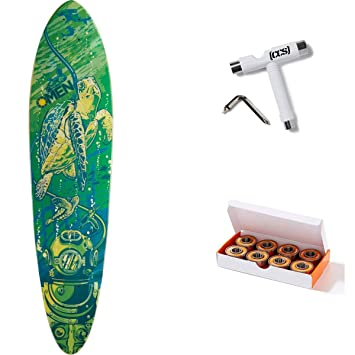 fe2442eb5 Amazon.com   Omen Sea Mama Longboard Deck with CCS Skate Tool and ...