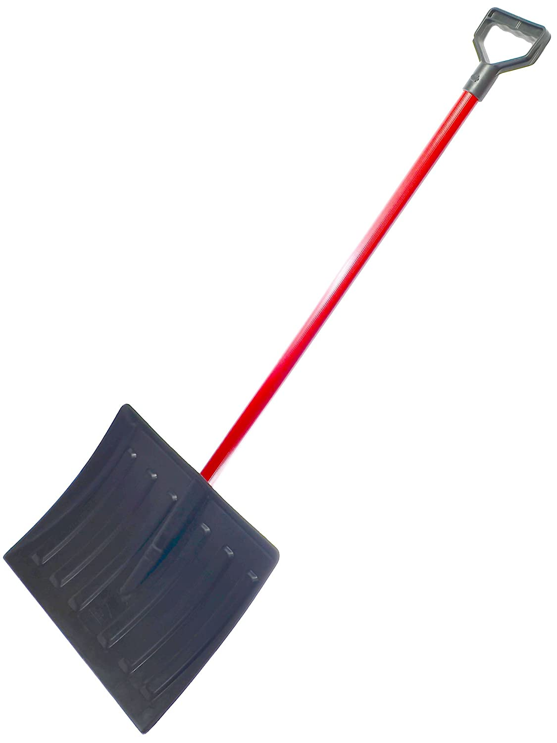 HBC Lightweight & Durable 48 long 17 Wide Poly Snow Shovel & Pusher with Steel Handle WORLD AND MAIN (CRAN