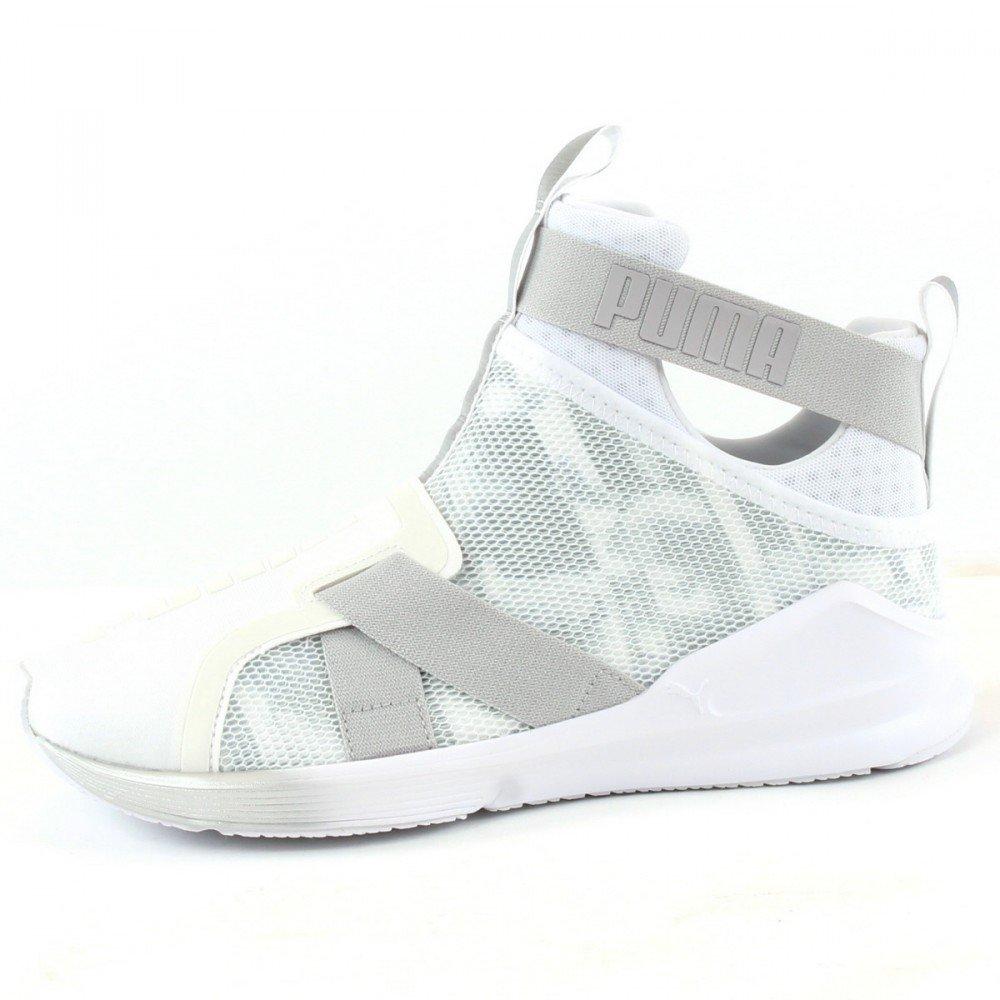PUMA Fierce Strap Swan Damen Sneaker Schwarz: