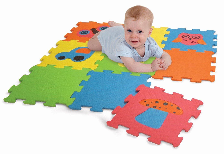9 Piece Edushape Baby Edu Tiles Puzzles