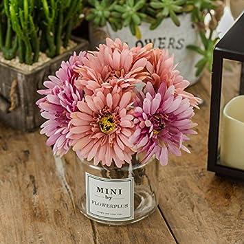Amazon.com: Fake flowers silk flower rose packaged template room ...