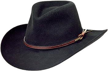 Stetson Men s Bozeman Wool Felt Crushable Cowboy Hat - Twboze-813007 Black 050f5420259