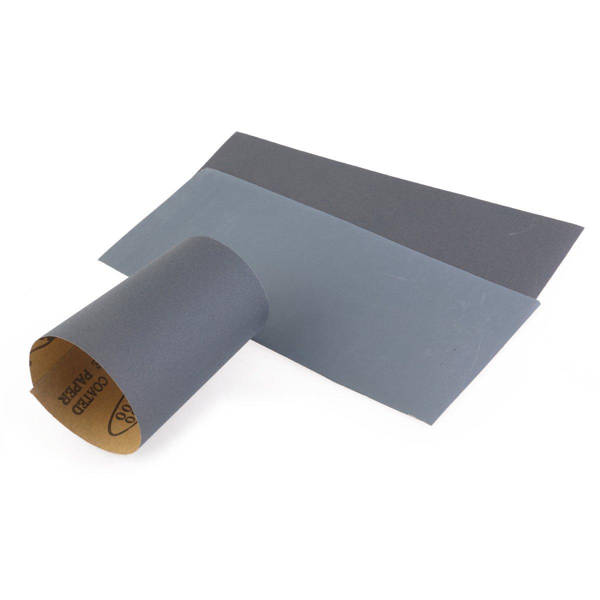 36 St/ück 400 to 3000 Grit Schleifpapier Sortiment Trocken//Nass F/ür Automobilschleifen Holzbearbeitung und Holzdrehen Schleifpapier Set