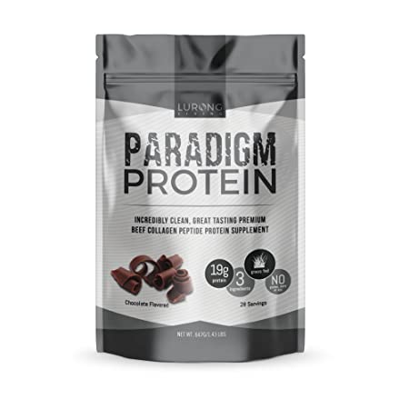 Paradigm Protein – Chocolate – Beef Collagen Protein – Keto, Paleo, Only 3 Ingredients