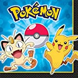 Pokemon birthday party supplies 32 pack lunch napkins