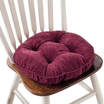 Amazon Com Thicken Round Seat Cushions Sofa Chair Pillow