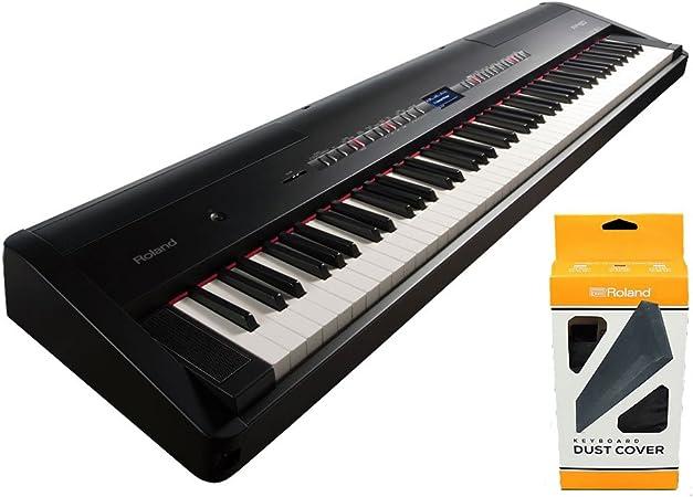 Roland FP-80 Piano digital de 88 teclas Negro w / Oficial de ...