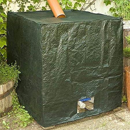 Cubierta de tanque de agua de lluvia Noor Contenedor Cubierta de aluminio Cubierta Campana 1000 litros IBC
