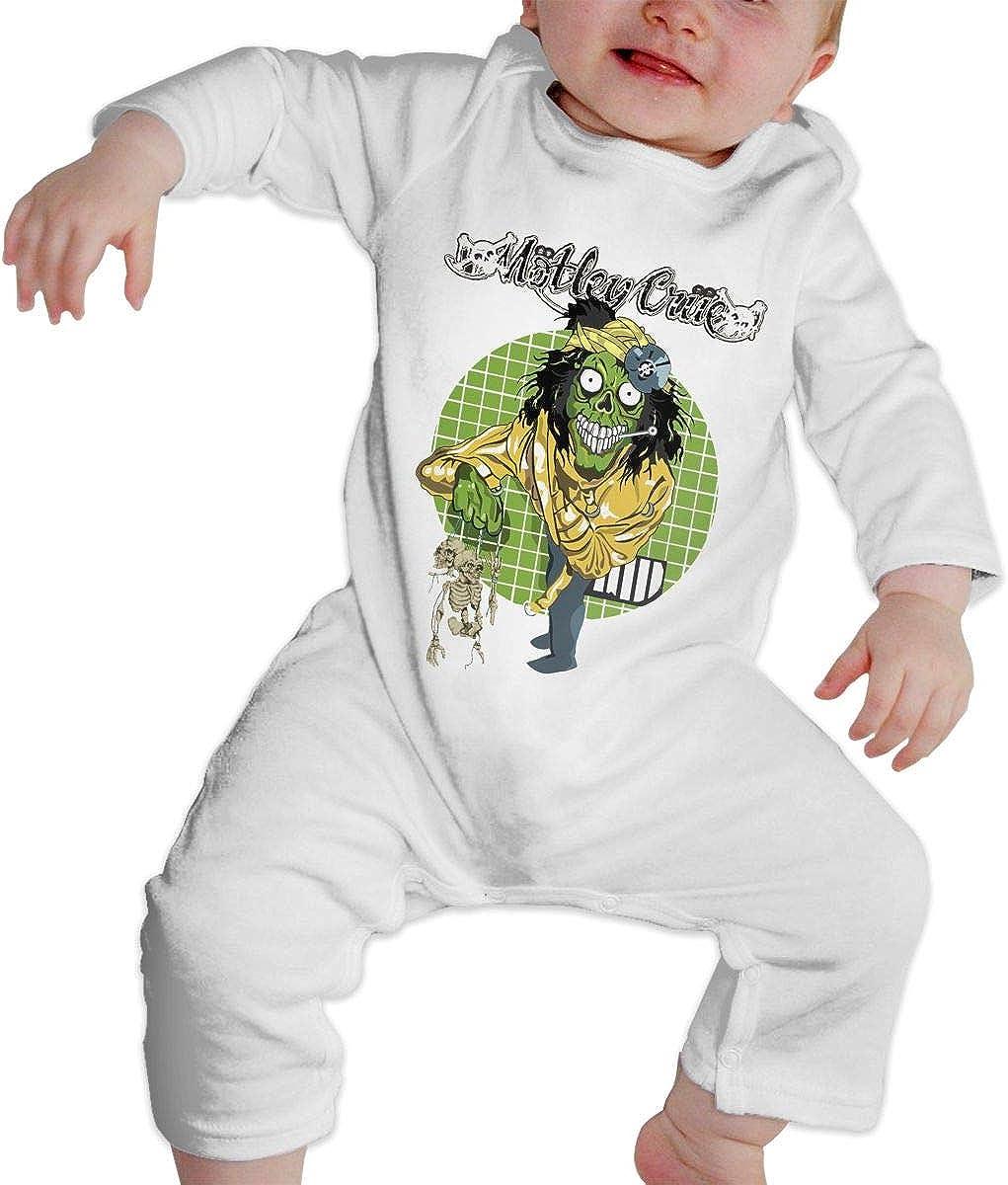 Qq1-asd-store Motley Crue Boys//Girls Baby Cotton Long Sleeve Romper Warm Bodysuit