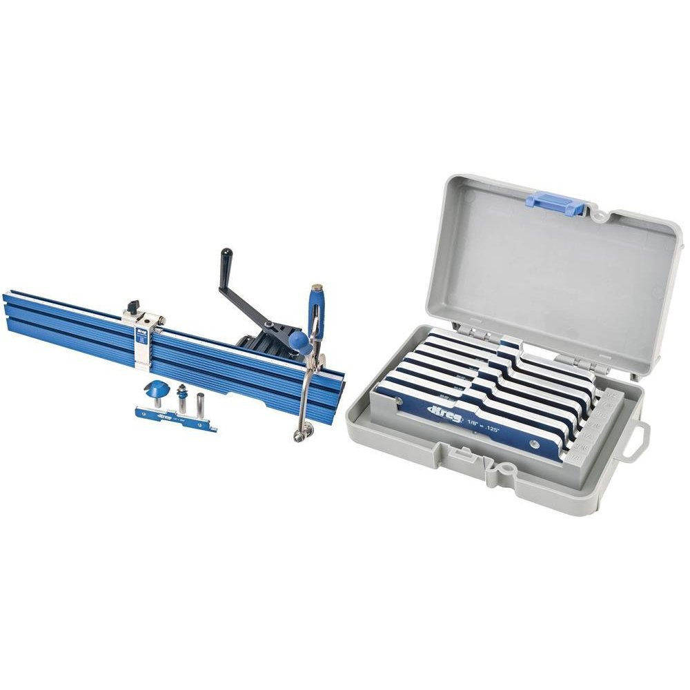 Kreg PRS1200 Precision Beaded Face-Frame System w/ Table Set Up Bars ...