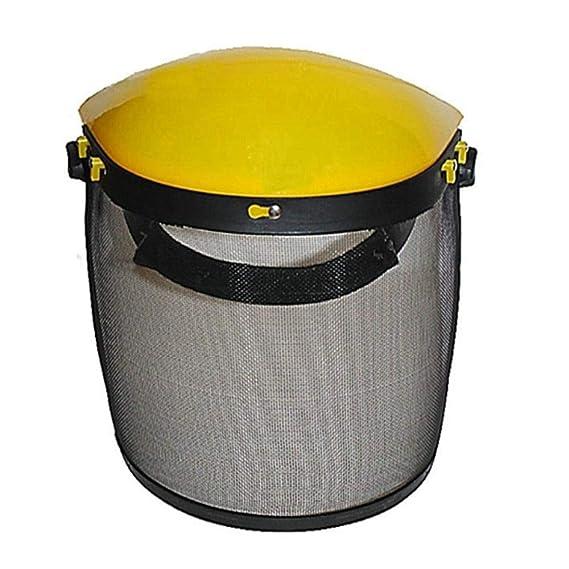 Protección de protección Facial Completa Casco de Seguridad con ...