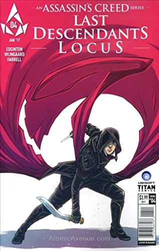 Amazon Com Assassin S Creed Locus 4a Vf Nm Titan Comic Book
