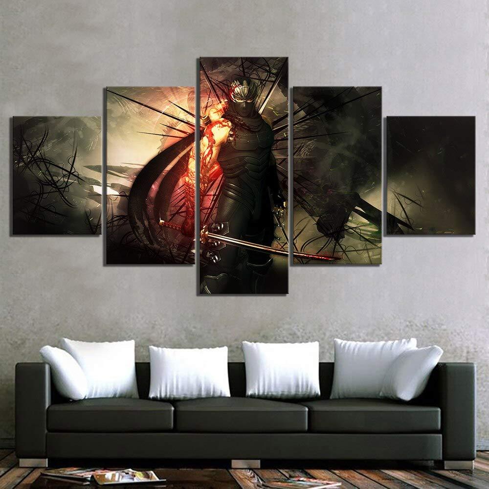 Amazon.com: Artwap Canvas Paintings Wall Art for Home Decor ...