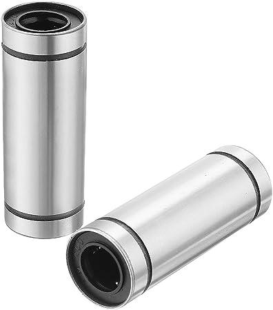 LM12LUU 12mm 10pcs Linear Ball Bearing Size 12 x 21 x 57mm 3D Printer