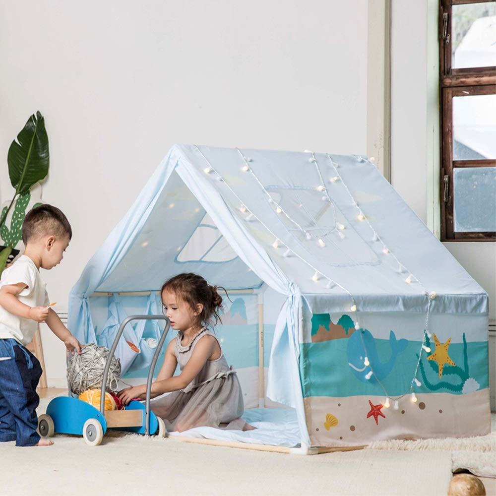 Mogicry 子供用テント ベビー 屋内 屋内 小さな家 男の子 ゲームハウス プリンセス 女の子 お城 誕生日 赤ちゃんのおもちゃ 家 家族 ティピー 誕生日プレゼント 男の子 女の子 子供用 1歳以上 B07NL4Q53Z, 子供服CHILD CHARM:d76e5526 --- forums.joybit.com
