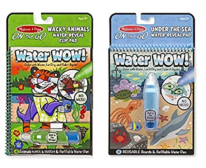Melissa And Doug Water Wow Bundles Under The Sea Wacky Animals Multi Color